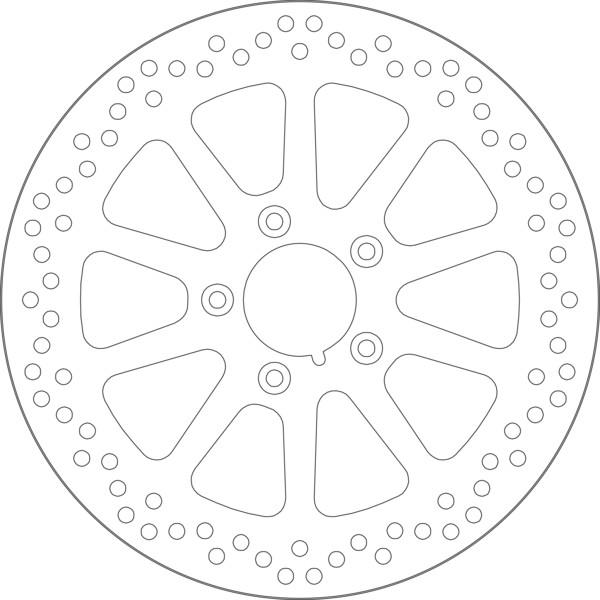 Disque de frein 5143
