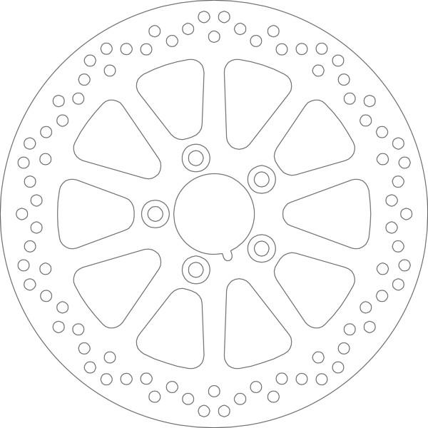 Disque de frein 5160