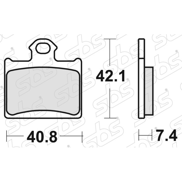 Plaquettes de frein 872 RSI