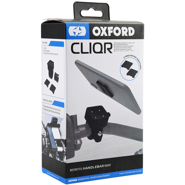 Support smartphone CliqR pour guidon de 22-22,5 mm