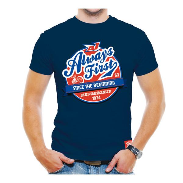 T-shirt Grease Indigo
