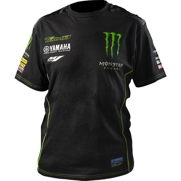 T-shirt Custom 1 Tech3 Monster Energy® 2017