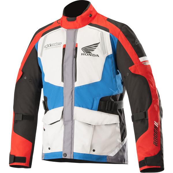 Veste Andes V2 Drystar® Honda Alpinestars moto : Dafy Moto