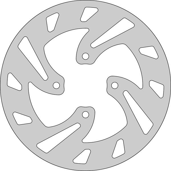 Disque de frein FE.Y376