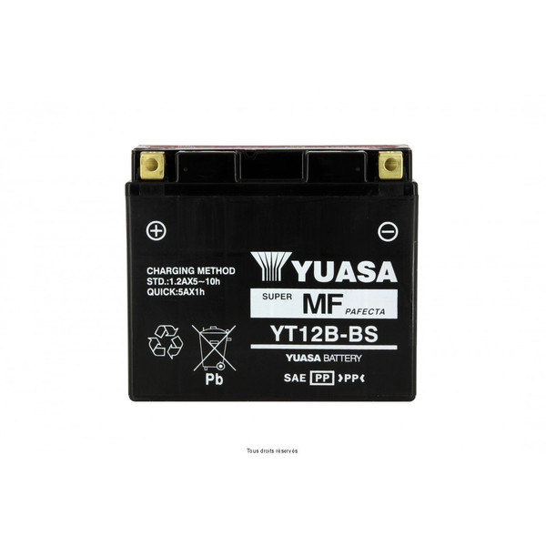 Batterie YT12B-BS - AGM