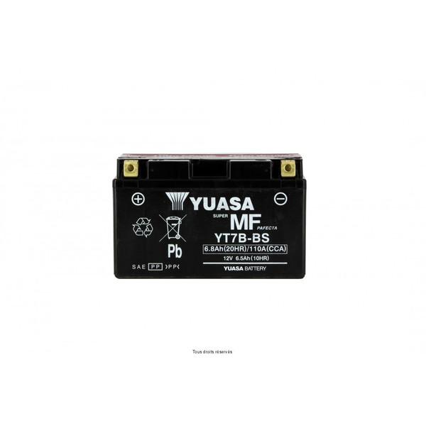 Batterie YT7B-BS - AGM Avec Acide
