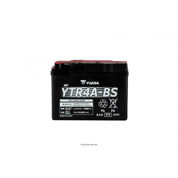 Batterie Ytr4a-bs