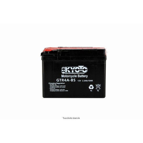 Batterie Ytr4a-bs - Ss Entr. Acide
