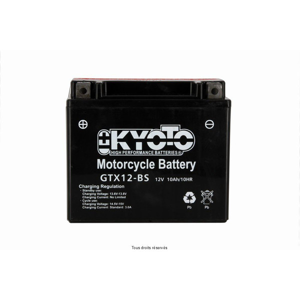 Batterie Ytx12-bs - Ss Ent. Acide