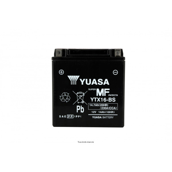 Batterie Ytx16-bs - Ss Entr. Acide