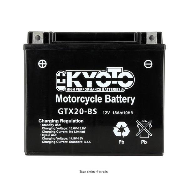 Batterie Ytx20-bs - Ss Entr. Acide
