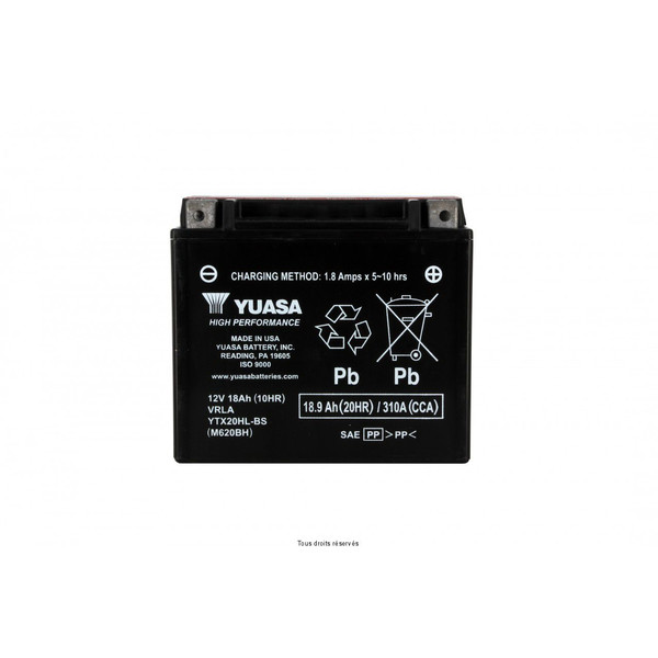 Batterie Ytx20hl-bs - AGM