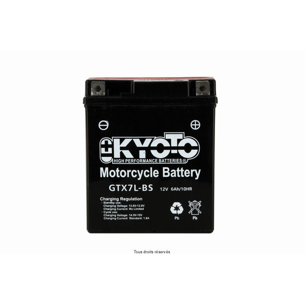 Batterie Ytx7l-bs- Ss Entr. Acide