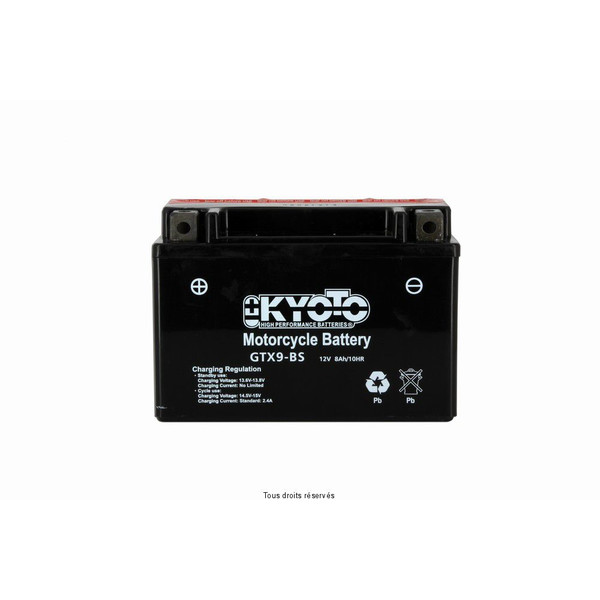 Batterie Ytx9-bs - Ss Entr. Acide