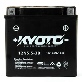 Batterie 12N5.5-3B SLA Kyoto