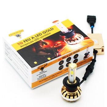 Ampoule Feu à LED Gold H4 Tecno Globe