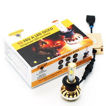 Ampoule Feu à LED Gold H7 Tecno Globe