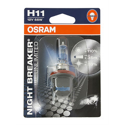 Ampoule H11 Night Breaker Osram