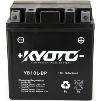 Batterie YB10L-BP SLA AGM Kyoto