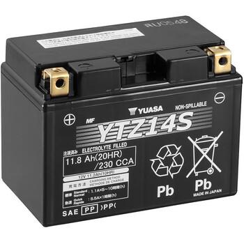 Batteries YTZ14S SLA AGM Yuasa