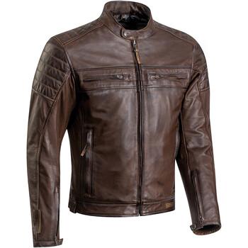 Blouson moto cuir ixon addict