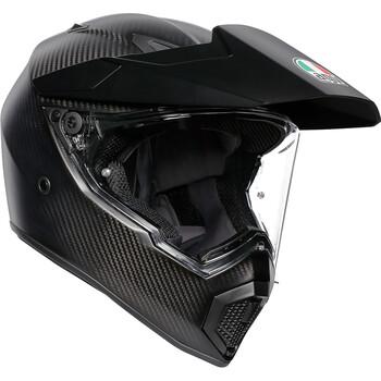 Casque AX9 Mono Matt Carbon AGV