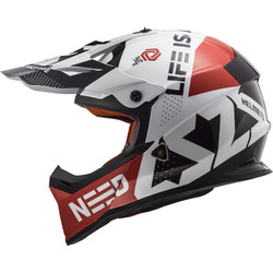Casque MX437 Fast Block LS2