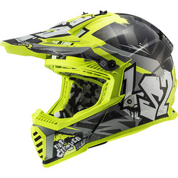 Casque MX437 Fast Evo Crusher LS2
