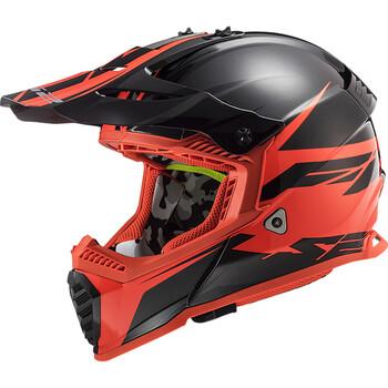 Casque MX437 Fast Evo Roar LS2