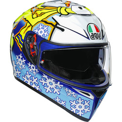 Casque K-3 SV Rossi Winter Test 2016 AGV