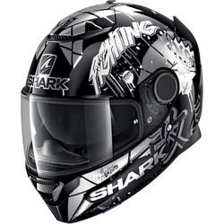 Casque Spartan Replica Lorenzo Catalunya GP Shark