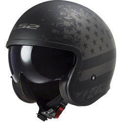 Casque OF599 Spitfire Black Flag LS2