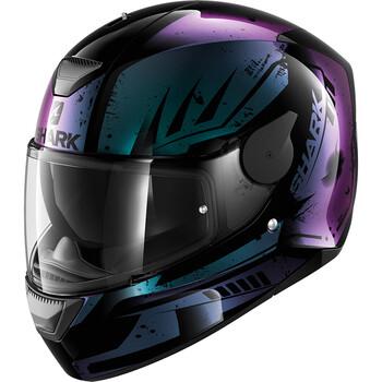 casque moto bordeaux