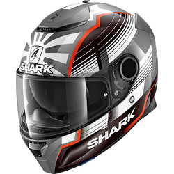 Casque Spartan Replica Zarco Malaysian GP Shark