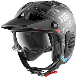 Casque X-Drak Freestyle cup Mat Shark