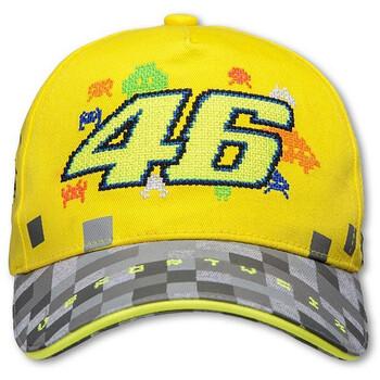 Casquette enfant jaune VR46
