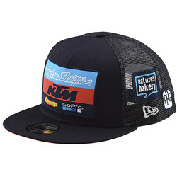 Casquette KTM Youth Team Snapback Troy Lee Designs