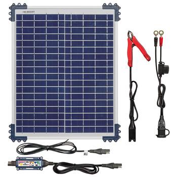 Chargeur Optimate Solar Duo TM522D2 avec panneau 20W TecMate
