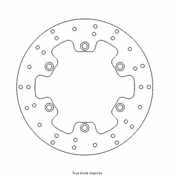 Disque de frein Suzuki DIS1183 Kit Brake