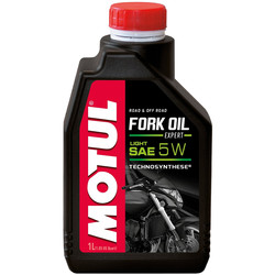 Huile Fork Oil Expert Light 5W 1L Motul