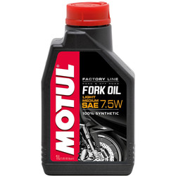 Huile Fork Oil Factory Line Light/Medium 7.5W 1L Motul