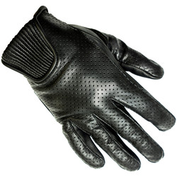 Gants Charly Cuir Soft Perforé Helstons