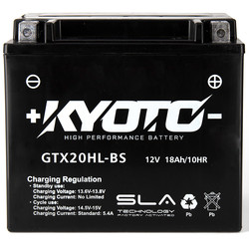 Batterie GTX20HL-BS SLA AGM Kyoto
