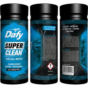 Lingettes nettoyantes Super Clean Dafy Moto