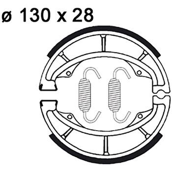 Machoires de frein LMS804 AP Racing