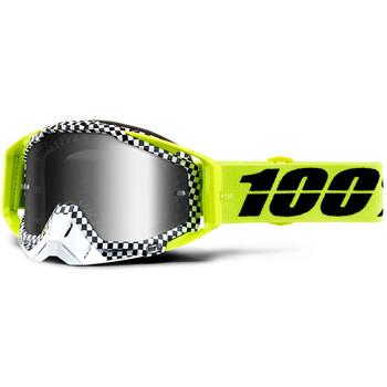 Masque Racecraft Andre Mirror Silver Lens 100%