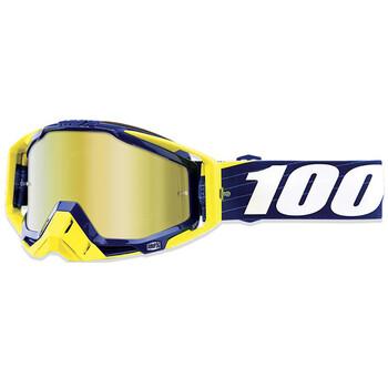 Masque Racecraft Bibal Navy True Gold Lens 100%