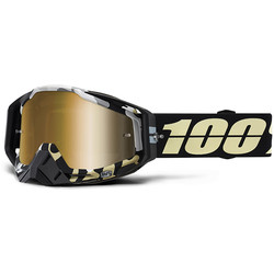 Masque Racecraft Ergoflash - Gold Mirror True 100%