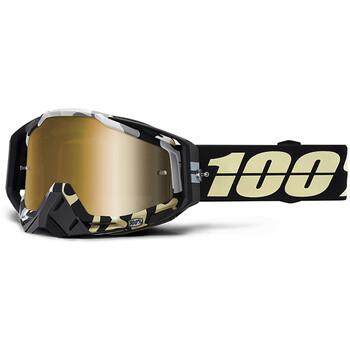 Masque Racecraft Ergoflash - Gold Mirror True 100%