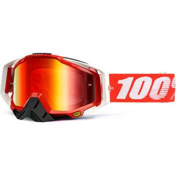 Masque Racecraft Fire Red - Red Mirror 100%